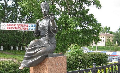 Вологда. Муза Батюшкова