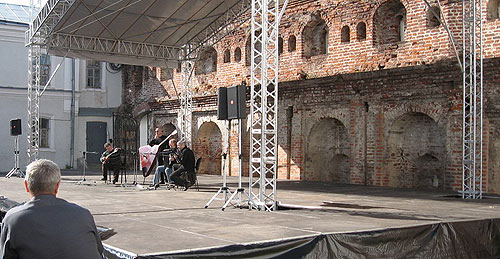 Готовится концерт ансамбля народных инструментов