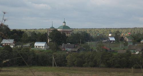 Вышгород. Церковь успения пресвятой богородицы в Набережной слободе