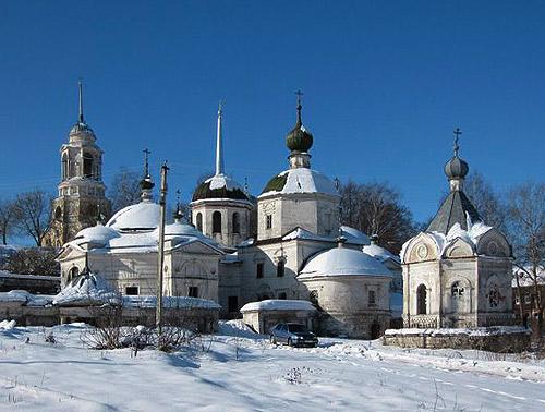 Пятницкая церковь. Старица