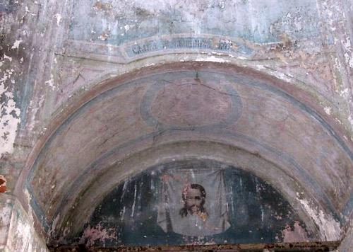 Фрагменты росписи в Пятницкой церкви