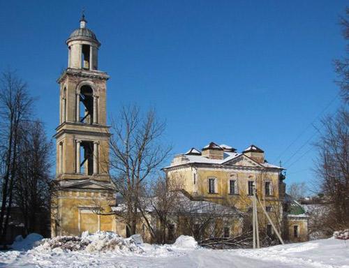 Никольская церковь. Старица