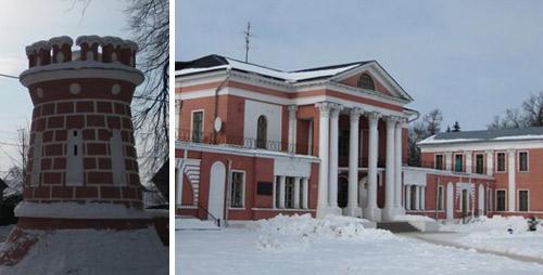 Усадьба Гончаровых. В настоящее время дом отдыха МАИ.