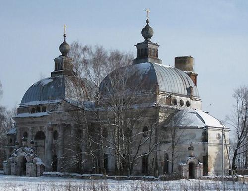 Церковь Казанской Божией Матери. Ярополец.