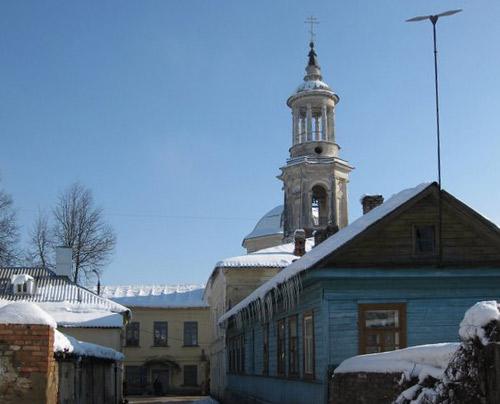 Торжок. Центр города