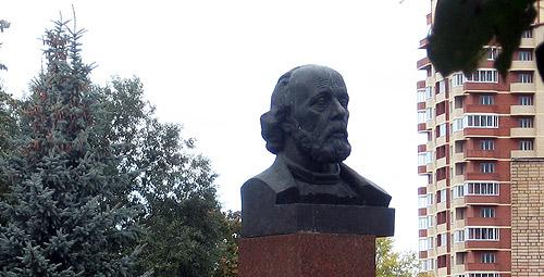 Памятник Циолковскому, г. Долгопрудный