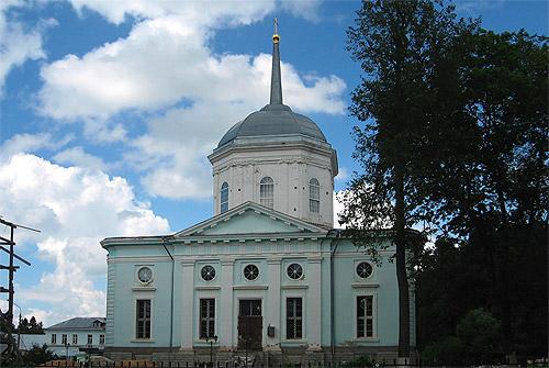 Усадьба Поливаново. Благовещенская церковь