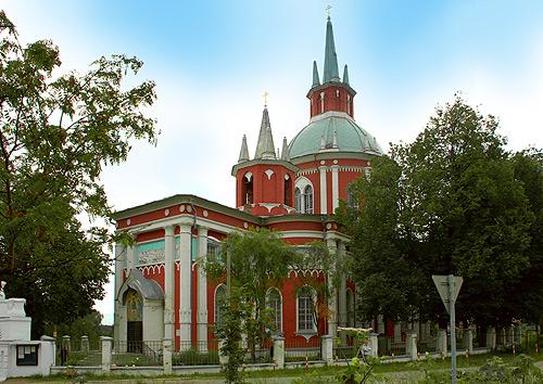 Никольская церковь в с. Царёво
