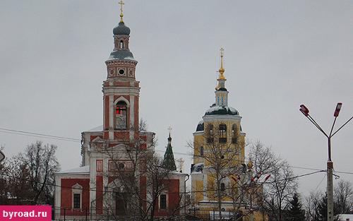 Три церкви Серпухова