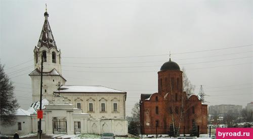 Церковь Варвары и церковь Петра и Павла