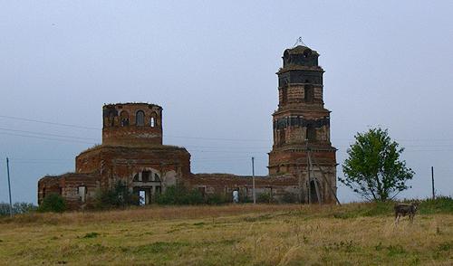 Церковь Георгия Победоносца в Кадном