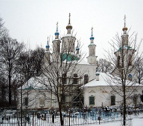 Баскаково церковь