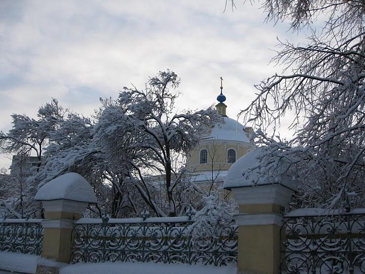 Собор Николая Чудотворца в Лосино-Петровском (1820).