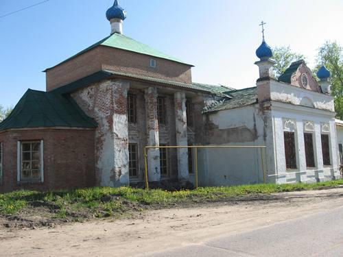 Никольский храм, Гаврилов Ям