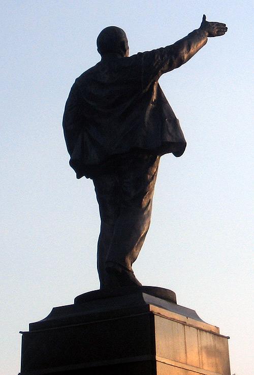 Егорьевск_памятник Ленину