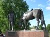 Вологда. Памятник Батюшкову