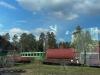Экспозиция музея паровозов