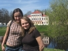 Углич. С Жанюсем на фоне здания городских присутственных мест