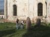 Углич. Богоявленский монастырь. Могилы у церкви Федоровской богоматери