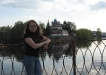 Углич. Жанюсь на фоне Кремля