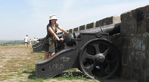 Земляной вал Азовской крепости 1697 г.