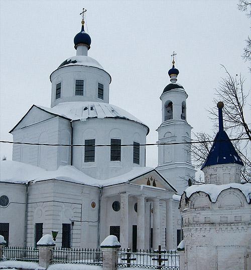Спирово. Церковь введения пресвятой богородицы