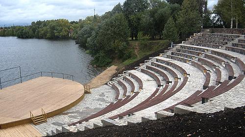 Набережная Клязьменского водохранилища