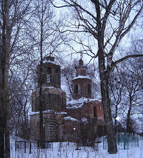 Потапово_церковь Николая чудотворца