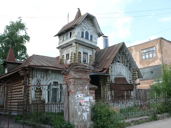 Дом Лужиных «Теремок» 1900г. Ул. Кирова, 28б